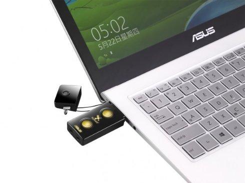 ASUS представила внешнюю звуковую карту в виде «флешки»