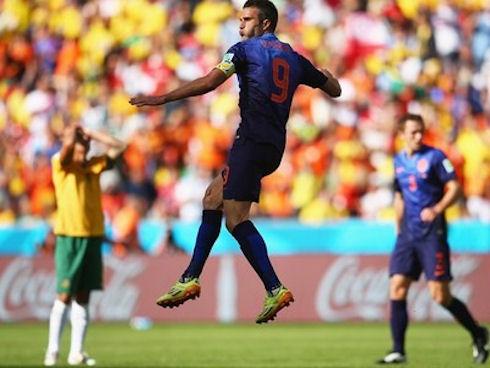 Чемпионат мира по футболу-2014. Австралия-Нидерланды 2:3