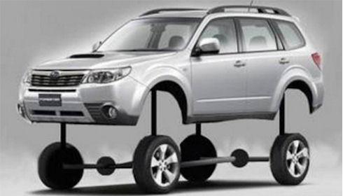 Автомобильный пакет для плохих дорог