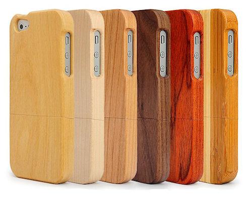 Оригинальные бамбуковые чехлы для iPhone 4/4S
