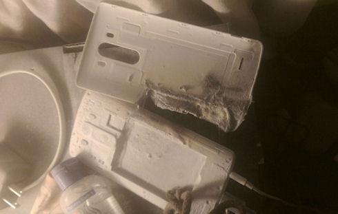 Батарея LG G3 взорвалась на глазах владелицы