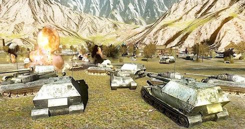 Игра Battlefield Tank - очередные танки