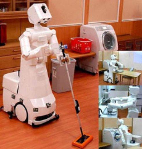 Белорусский школьник создал робота-уборщика