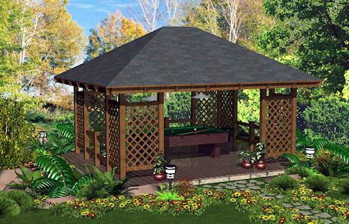 Нужна ли садовая беседка для загородного дома?