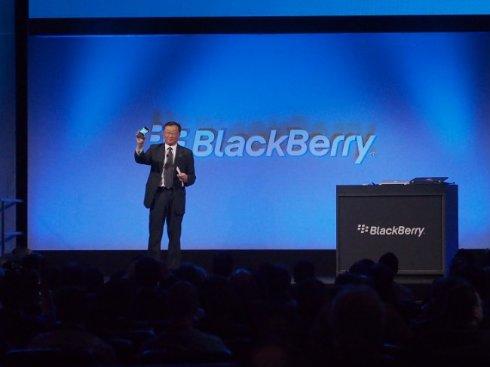 Презентация смартфона Classic с QWERTY-клавиатурой от BlackBerry