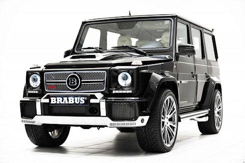 Ателье Brabus создала самый мощный G-Класс от Mercedes