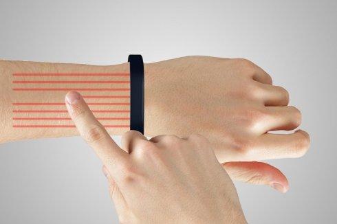 Человеческую руку превратили в планшет (ВИДЕО)