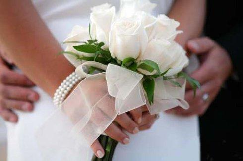 Букет для вашей невесты доставят в точно назначенный срок!