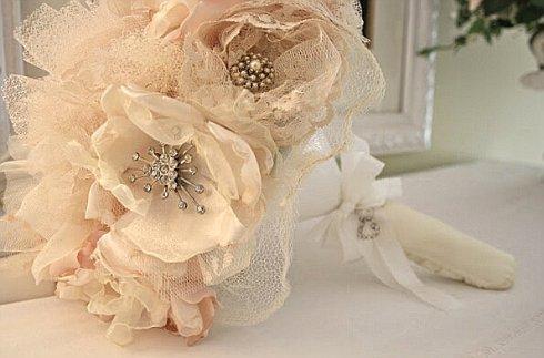 Букет невесты из брошей своими руками