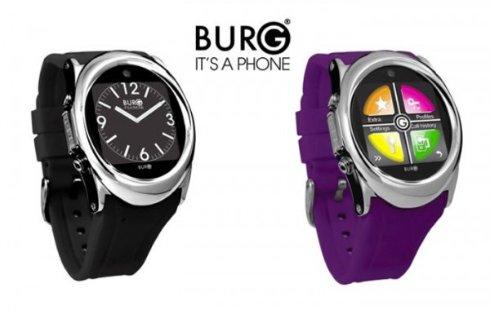 Презентация BURG 12 — умного телефона-хронометра