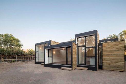 Энергосберегающий дом из сборных модулей