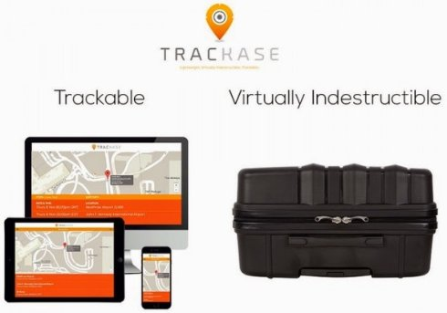 Чемодан Trackase снизит риск потери багажа