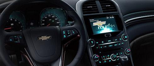 Chevrolet MyLink – интерактивность, достойная вас!