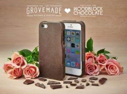 Чехол для айфона из шоколада