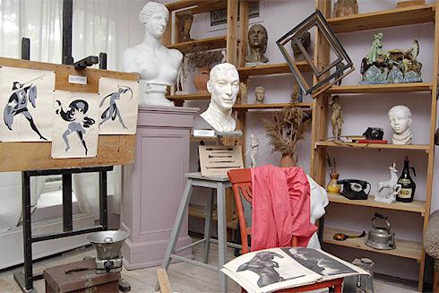 Что должно быть в мастерской скульптора