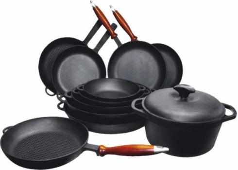 Чугунная посуда: нюансы и советы