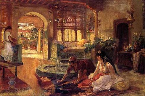 Декор в мавританском стиле