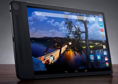Dell выпустит планшет с 3D-камерой