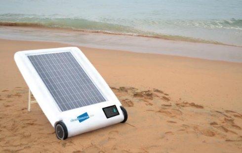 Опреснитель воды на солнечных батареях Desolenator избавит от жажды