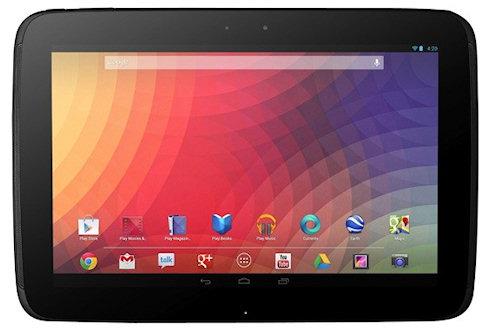 Десятый Nexus от Google вошел в мир планшетов