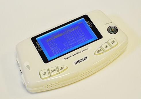 Новый прибор для настройки спутниковых антенн Digisat SF-600