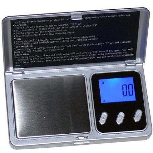Карманные весы «Digital scale 500» - точность измерений превыше всего.
