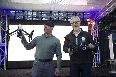 Презентация дрон-трансформера с 4K-камерой от DJI