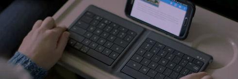 Для смартфонов выпущена складная клавиатура