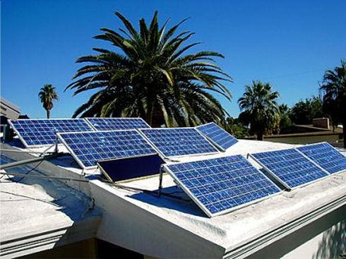 Применение солнечных батарей в домашних условиях