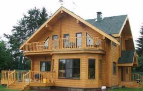 Дома из клееного бруса