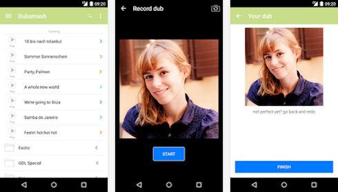 Dubsmash — простое приложение для создания видеороликов