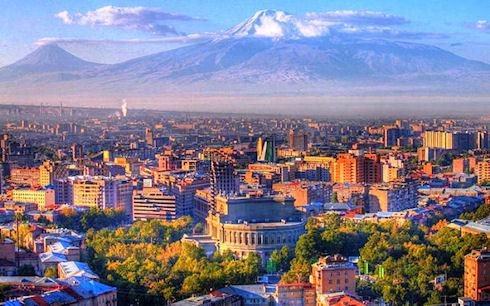 Ереван — поездка в удовольствие