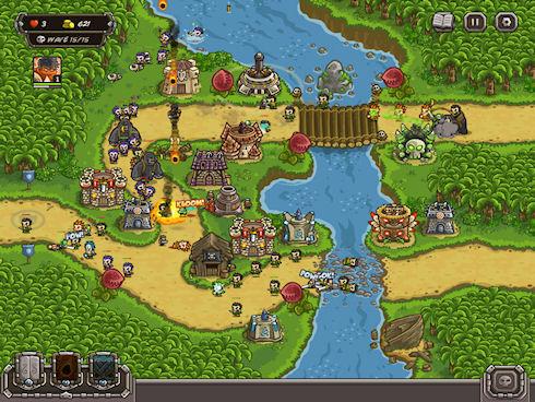 Флеш-игра Kingdom Rush