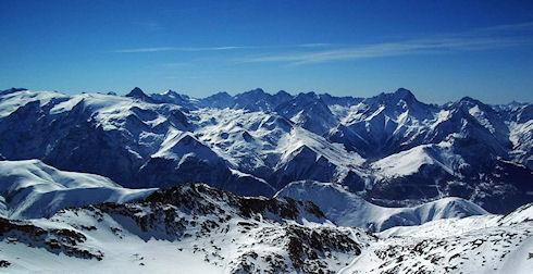 Знаменитые горнолыжные курорты во Французских Альпах