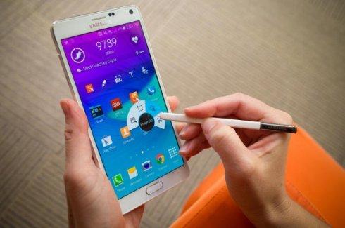Samsung Galaxy Note 4 отобрал лидерство у Apple