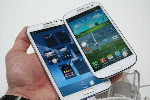Новые фото Samsung Galaxy Note III попали в сеть