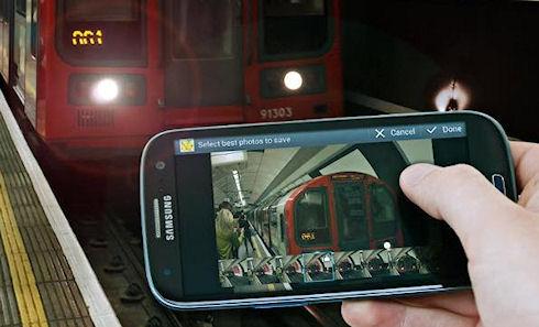 Черный Samsung Galaxy S III замечен на прилавках магазинов