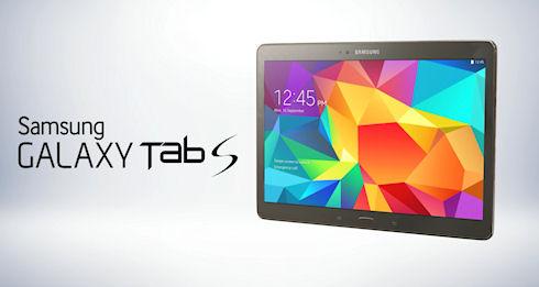 Galaxy Tab S – тонкий планшет с большими возможностями