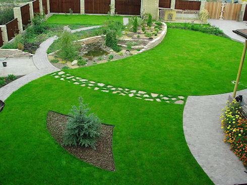 Газоны для загородного дома и дачи