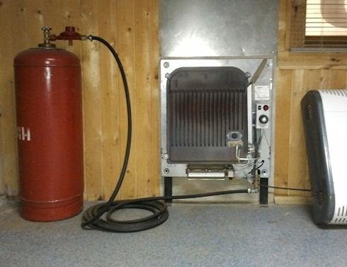 Как установить газовое отопление на даче