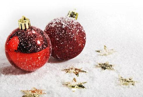"""Предпросмотр - Схема вышивки  """"Новогодние игрушки в снегу """" - Схемы вышивки - folly - Авторы - Портал  """"Вышивка крестом """" ."""