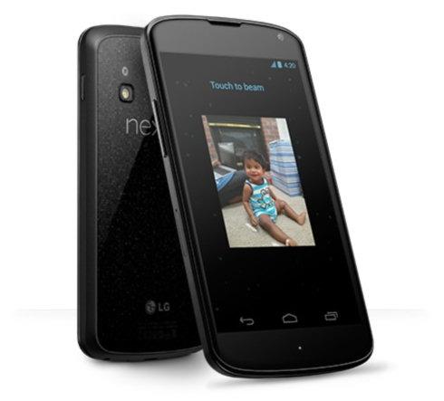 Google Nexus 4: беспроводная зарядка и видеотрансляция