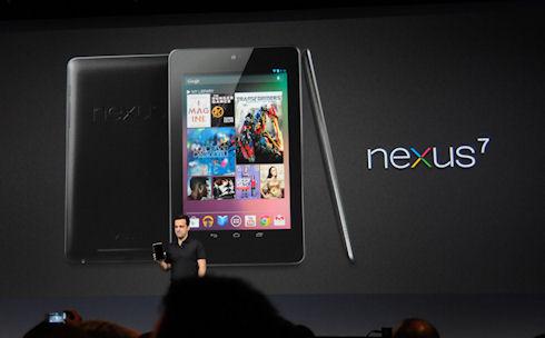 Встречайте — Google Nexus 7