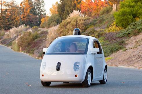 Google разработала первый прототип автомобиля-«беспилотника»