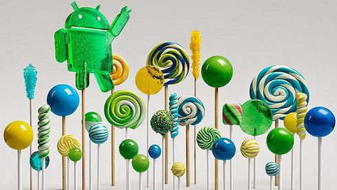 Google развила Android до новой пятой версии Lollipop