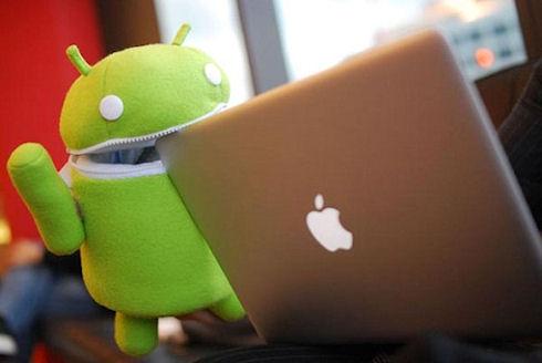 Корпорация Google поддерживает Samsung против Apple
