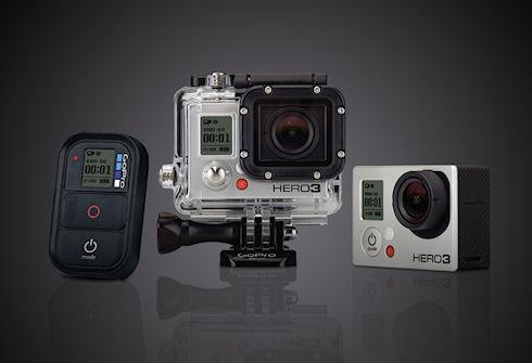 GoPro - видеокамеры для экстремальной съёмки