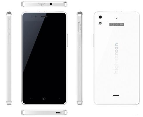 У YotaPhone 2 появился конкурент - смартфон Ice 2 с двумя экранами от Highscreen