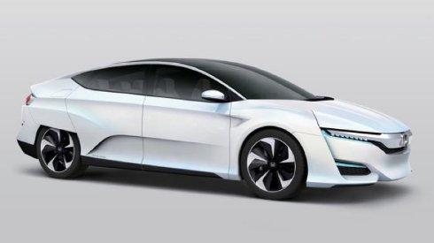 Анонс автомобиля на водородном топливе от Honda