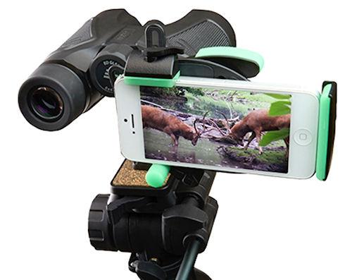HookUpz – простой, но универсальный переходник для оптики смартфонов